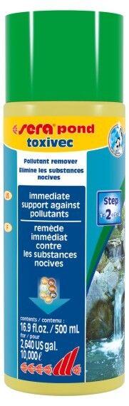 Sera pond toxivec 500 ml Soforthilfe gegen Schadstoffe Teich