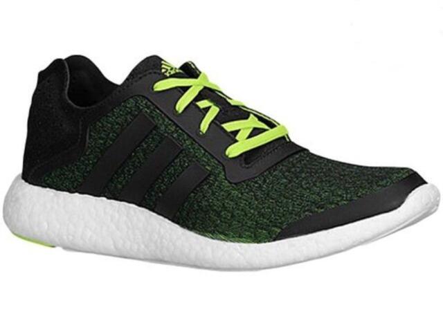 Hombre adidas corriendo Trainers b34868 pureboost revelan textil negro