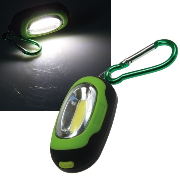LED Schlüssel-Leuchte Magnethalter Karabiner-Leuchte Taschenlampe Arbeitsleuchte