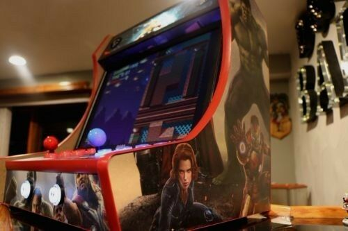 Mdf bartop arcade cabinet do it yourself kit with t molding cuts mdf bartop arcade cabinet do it yourself kit with t molding cuts included solutioingenieria Image collections