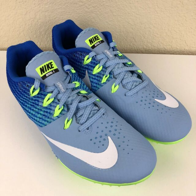 Nike Womens Zoom Rival S Sprint Track Spikes Blue With Spikes Tool 806558-401