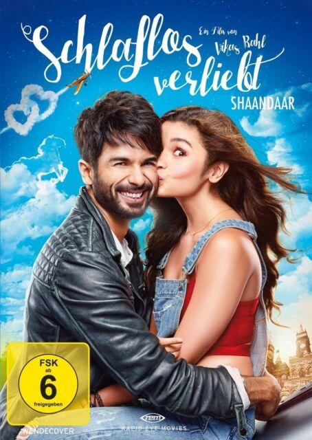 Schlaflos verliebt - Shaandaar (Shahid Kapoor) Bollywood DVD NEU + OVP!