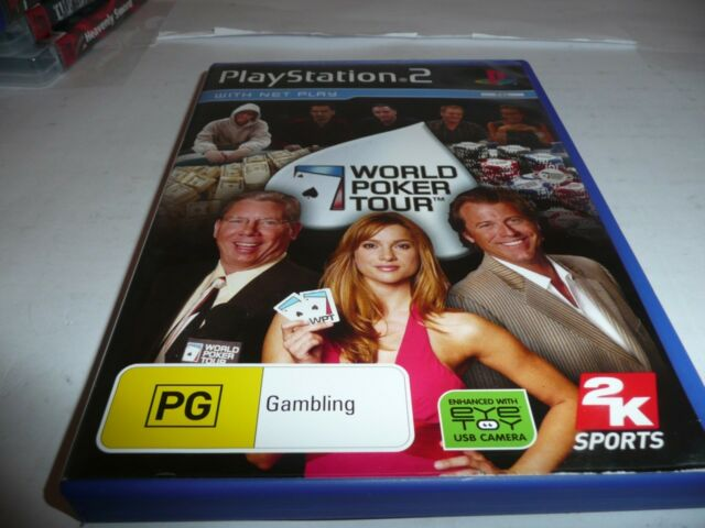 SONY PLAYSTATION 2 PS2 WORLD POKER TOUR  NEW