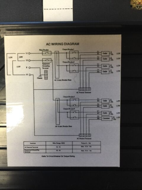 s l640 elx 60 rv 50 c4 elixir converter boat marine power ebay elixir elx-30 wiring diagram at n-0.co