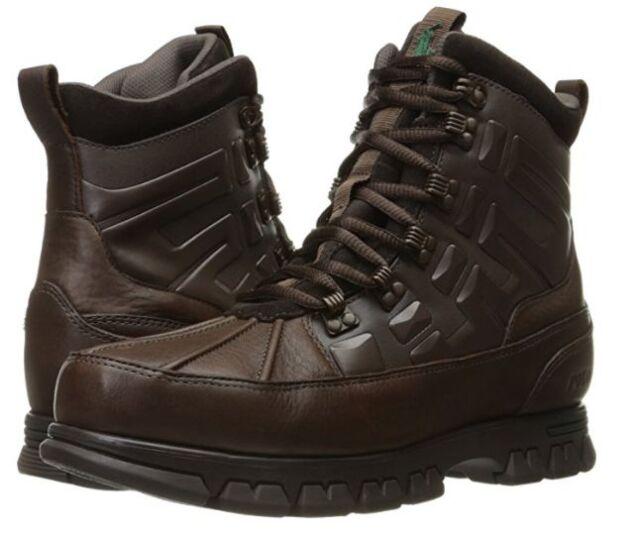 POLO RALPH LAUREN 812623069003 WP-DELTON-BO Mn's (M) Dark Brown Leather