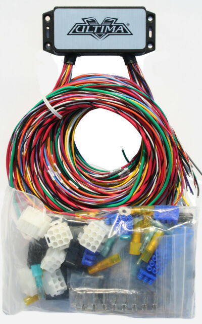 s l640 ultima plus compact electronic wiring harness kit bobber chopper harley wiring harness kits at creativeand.co