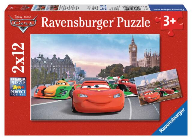 Disney Cars Lightning McQueen & Friends 2 x 12 Piece Ravensburger Jigsaw