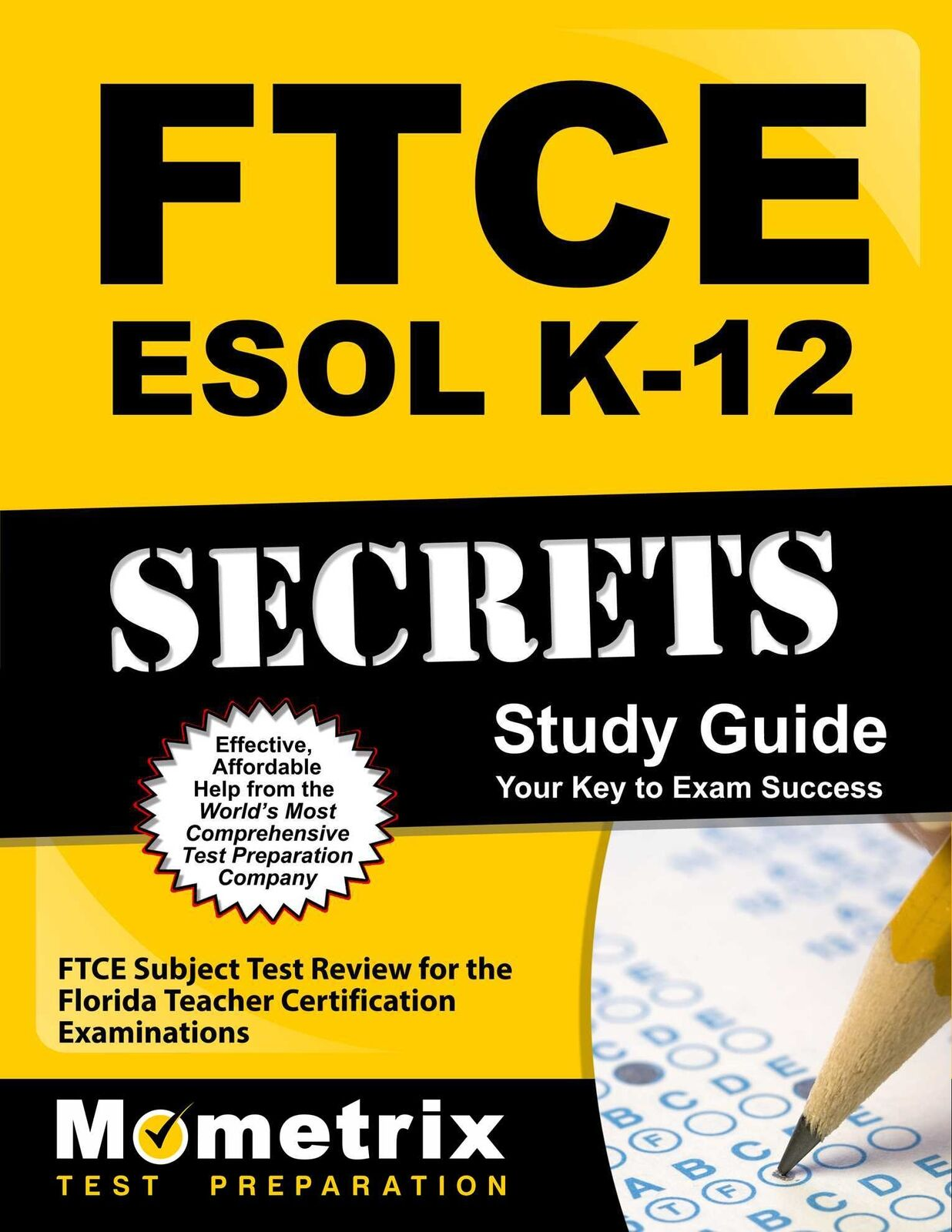 Ftce esol k 12 secrets study guide ftce subject test review for resntentobalflowflowcomponentncel 1betcityfo Images