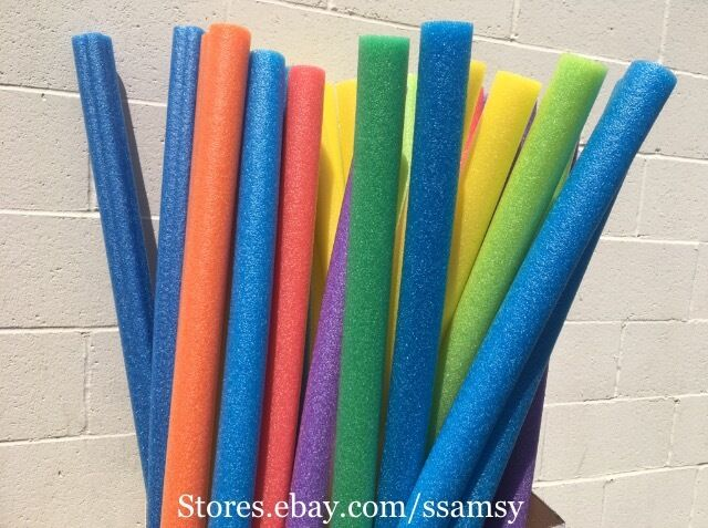 ssamsy 8x pool noodle swimming foam craft fishing therapy 8pcs ebay. Black Bedroom Furniture Sets. Home Design Ideas