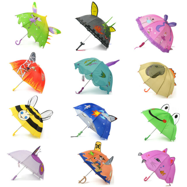 Kidorable Fun Children's Umbrellas All Colours & Styles Parties School Events