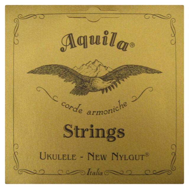 AQUILA UKULELE STRINGS 7U CONCERT REGULAR TUNING NYLGUT KEY OF C SUPERIOR SOUND