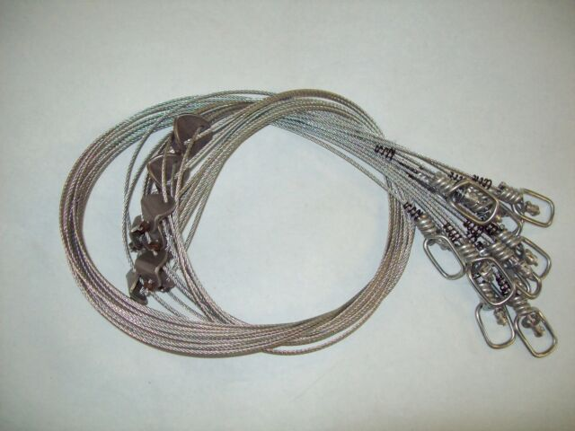 Snares 3/32 Swiveled Washer Lock - Beaver Coyote 1 Doz. Trapping ...