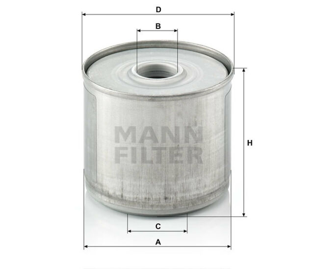 MANN-FILTER Kraftstoff-Filterelement P 917/1 x