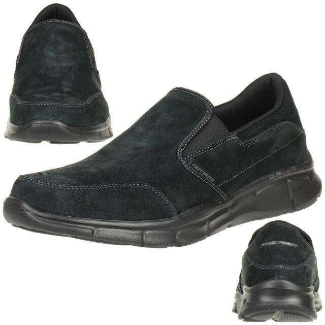 Mens Equalizer-Mind Game Sneakers, Black (BBK), 6.5 UK Skechers