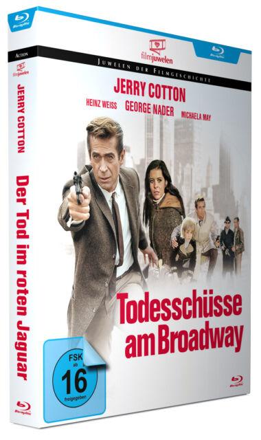 Jerry Cotton: Todesschüsse am Broadway - mit George Nader - Filmjuwelen BLU-RAY