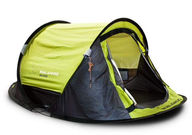 MALAMOO 3 SECOND QUICK WATERPROOF 2 PERSON HIKING CAMPING POP UP TENT MALT23SG  sc 1 st  eBay & Malamoo 3 Second Quick Waterproof 2 Person Hiking Camping Pop up ...