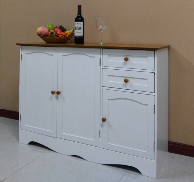 Wooden Buffet Sideboard Hall Table Kitchen Cupboard Dressers Cabinet,001