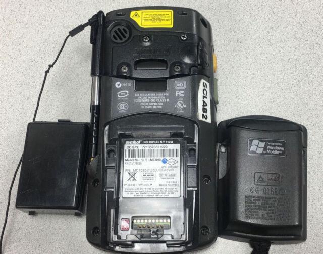 Motorola Symbol Pocket Pc Wireless Barcode Scanner Mc7090 Mc7090