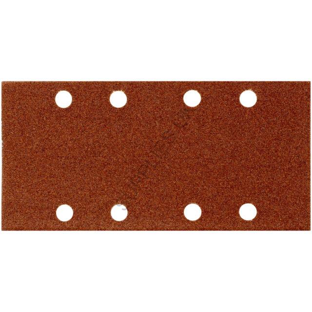 Punched 1/3 Sanding Sheets, Sander Pads, Paper, 93mm x 190mm, 60 80 120 240 Grit