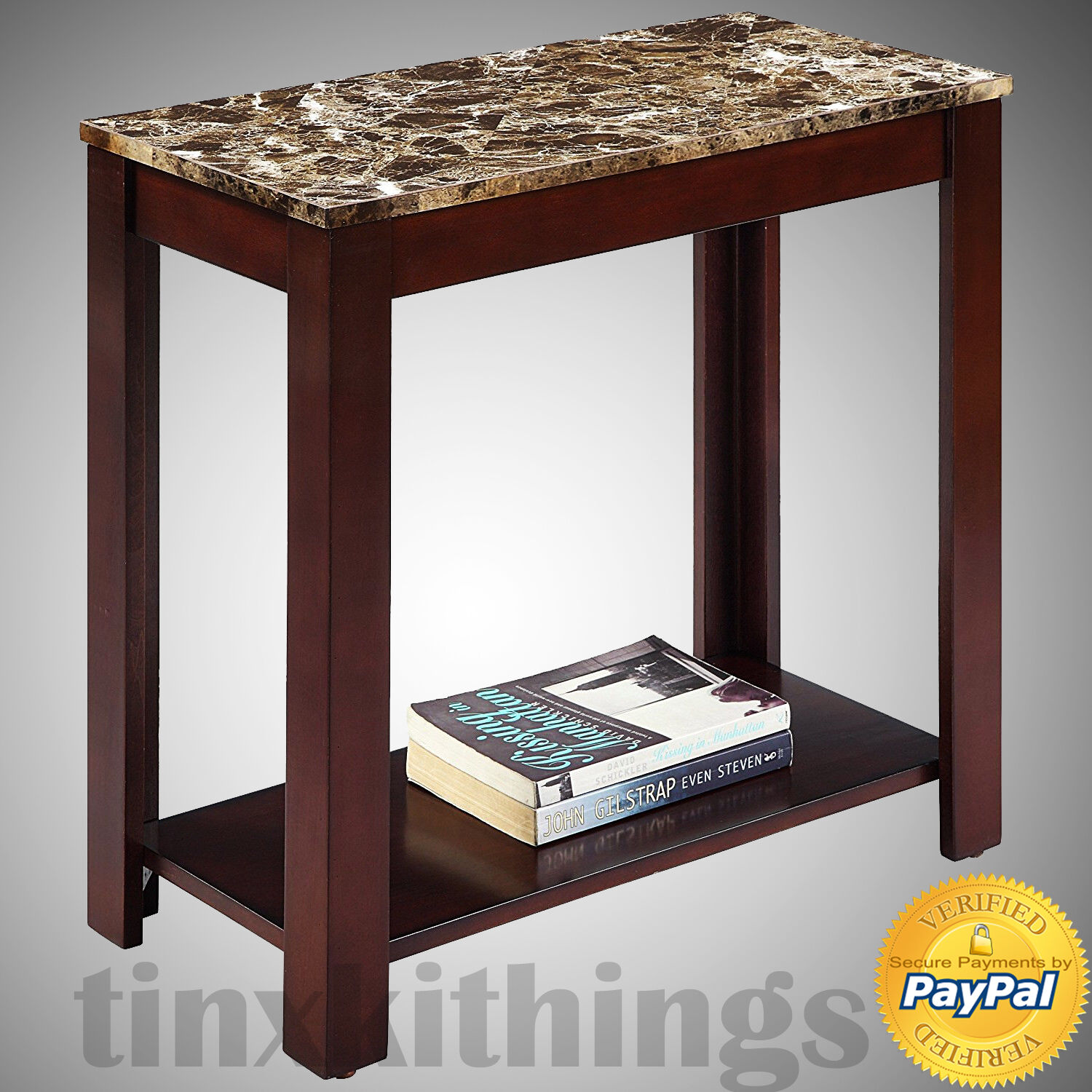 side tables with storage desk entryway faux marble living room for