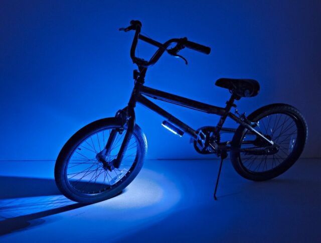 Bike brightz led green bicycle safety light lightweight fashion brightz ltd blue go brightz led bicycle light strip for frame be seen aloadofball Image collections