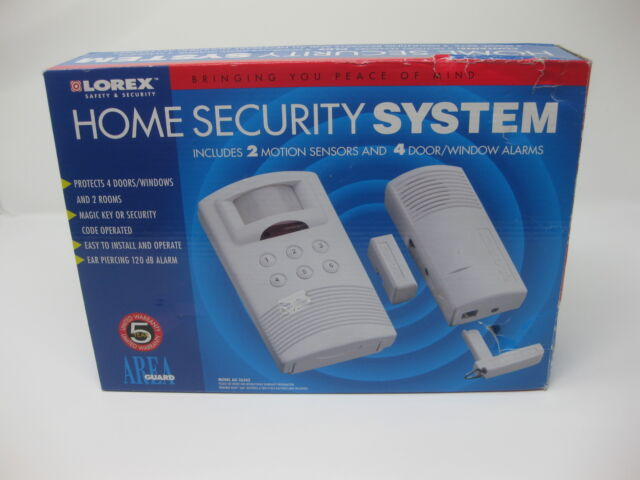 lorex area guard home security system ag 2634z ebay