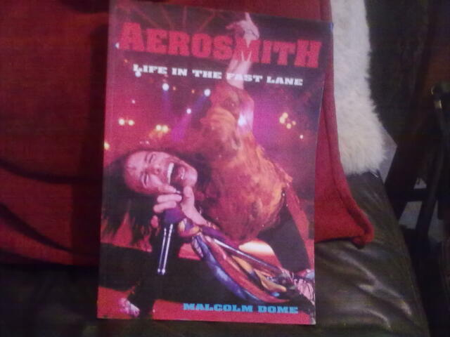 Life in the Fast Lane Aerosmith-Malcolm Dome Paperback English Castle 1994