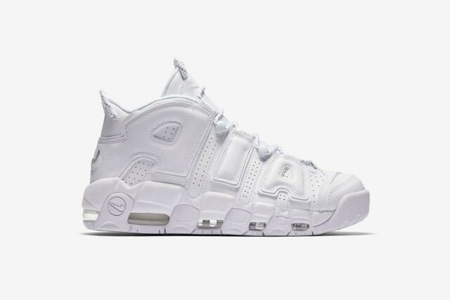 New 2017 Nike White AIR MORE UPTEMPO 96 Pippen Jordan NBA Retro Sneakers  Mens 11