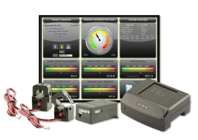 The Energy Detective Ted Pro Home Electricity Monitor