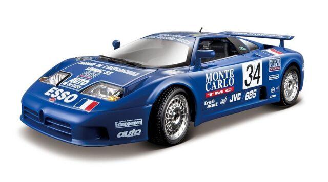 Bugatti EB 110 Super Sport (1994 Race) Maßstab 1:18 von bburago