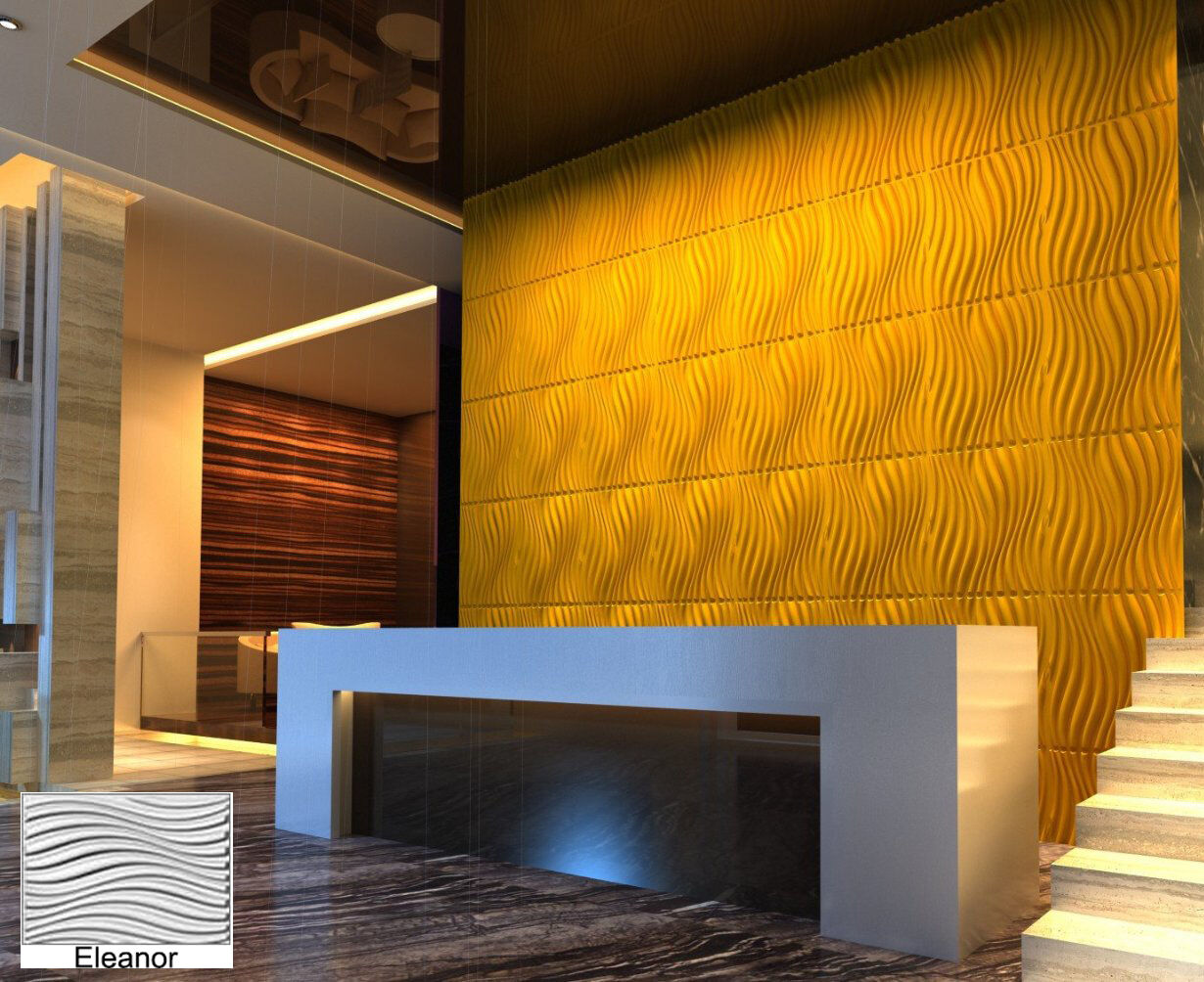 Unique Thermoplastic Decorative Wall Panels Festooning - The Wall ...