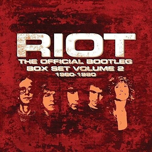 Riot - Official Bootleg Box Set 1980-1990 Vol 2 [New CD] Boxed Set, UK - Import