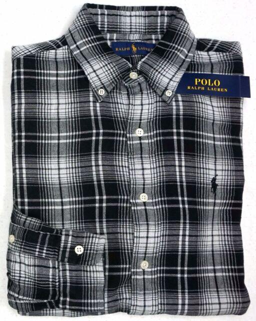Black And White Polo Ralph Lauren Shirt
