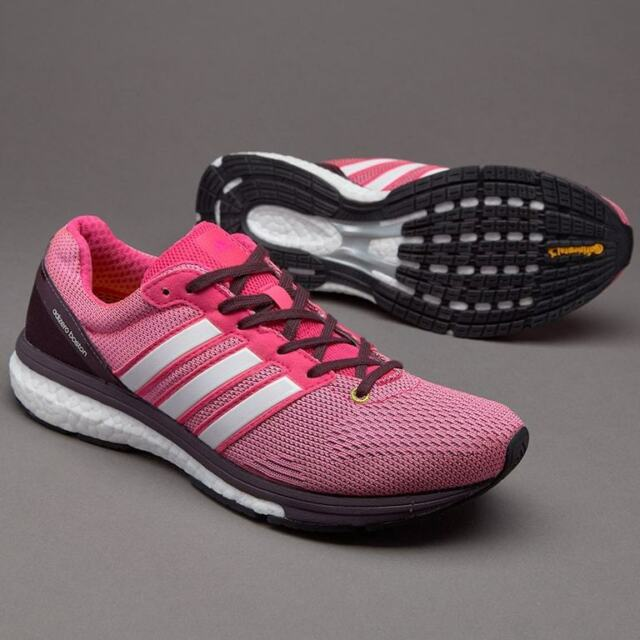 ADIDAS ADIZERO BOSTON 5 BOOST WOMENS LADIES RACE RUNNING TRAINERS SHOES UK  7 75