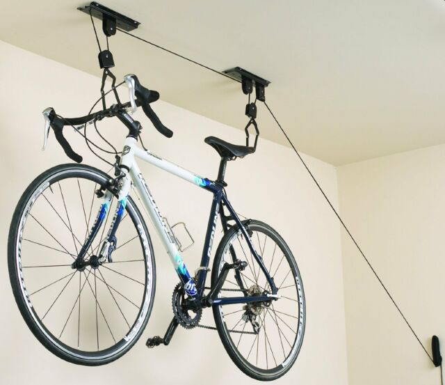 Ceiling Mount Bicycle Storage Lift Ceiling Hoist Bike Storage Garage Storage & WOW Cargoloc Ceiling Mount Bicycle Lift | eBay