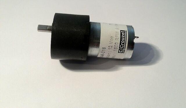 """Crouzet""  Elektro Getriebe-Motor 12V ca. 34 U/min 73g/L=70mm Modellbau---Top--"