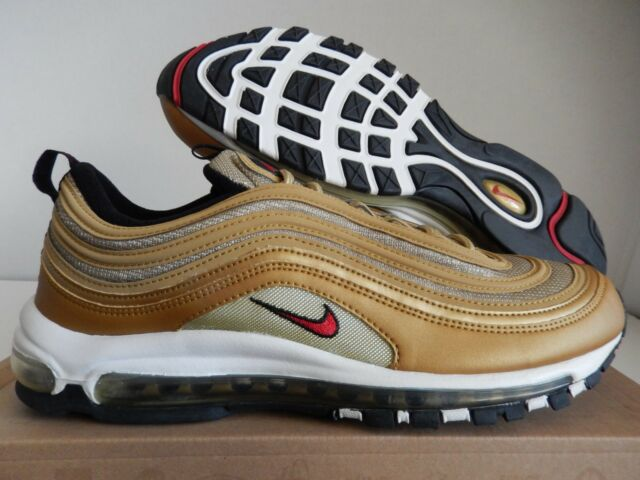 rare nike air max 97 metallic gold