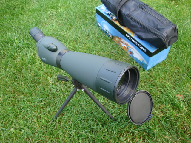New LUYI 25-115x80zoom Telescope / Spotting Scope