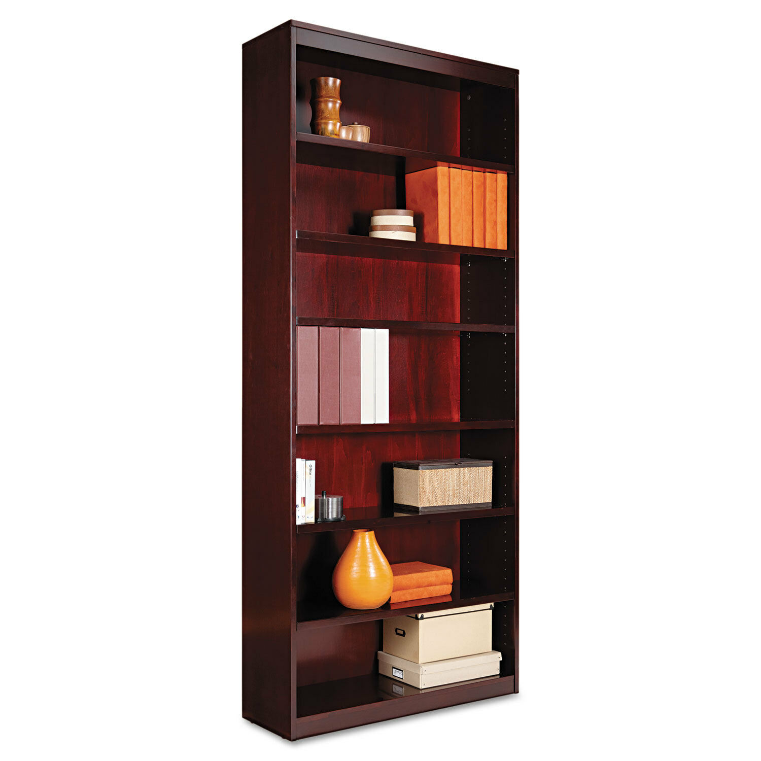 and aspenhome furniture by bookcases with bookcase door wolf return desk pc products inch lighted drawers hutch glass adjustable shelves credenza full