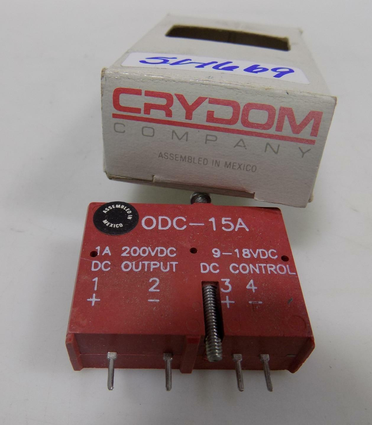 Crouzet Solid State Relay Odc15a 99626 eBay