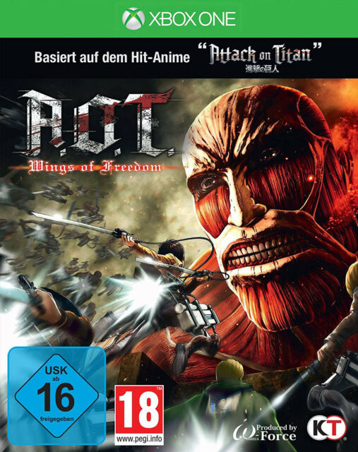 Xbox One A.o.T - Wings of Freedom (based on Attack on Titan) Neues Xbox One-Spie