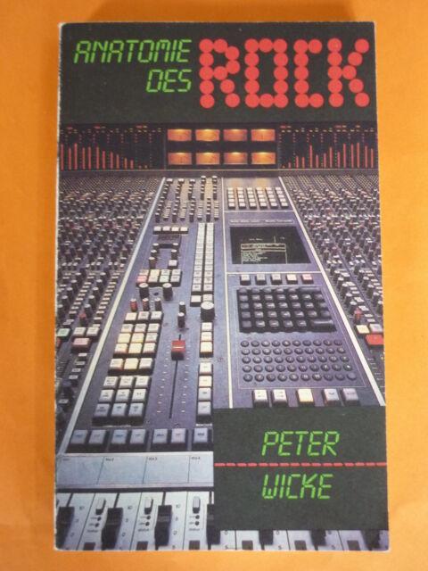Wicke,Peter: Anatomie des Rock / DDR Sachbuch,Musik,Herausbildung,Kennzeichnung,