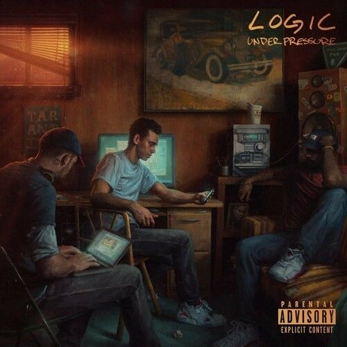 Logic, The Logic - Under Pressure [New Vinyl] Explicit, Gatefold LP Jacket