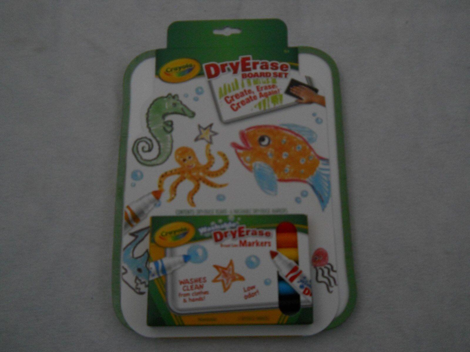 crayola dry erase go anywhere washable marker board set 98 8608 ebay