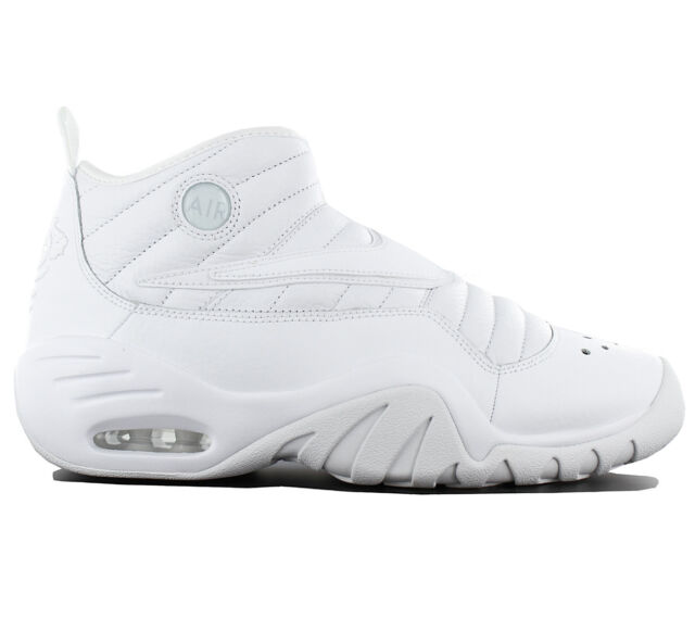 Nike Air Shake NDestrukt Dennis Rodman Triple White Men Basketball 880869101