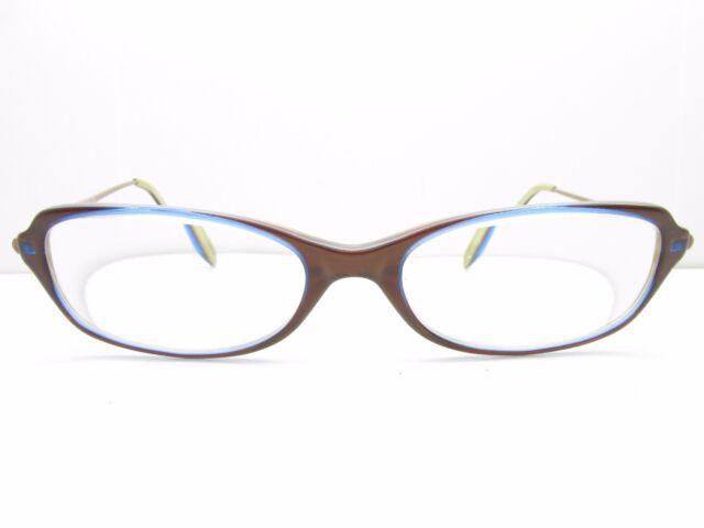 Anne Klein 8023 K5172 Eyeglasses Frames 51-16-140 Brown Rectangle ...