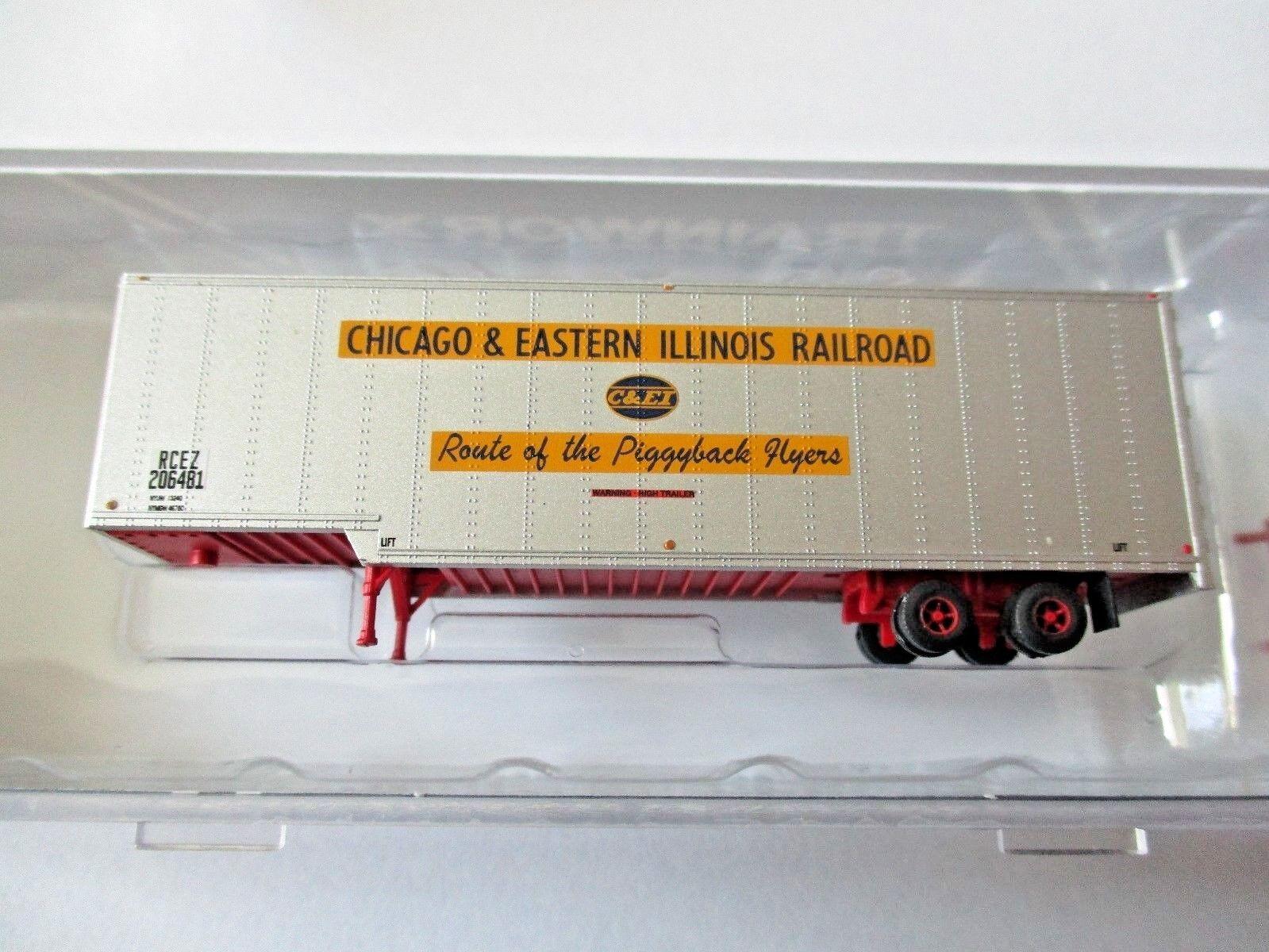 3 TrainWorx 40303 C&ei 40\' Drop Frame Trailer N Scale | eBay