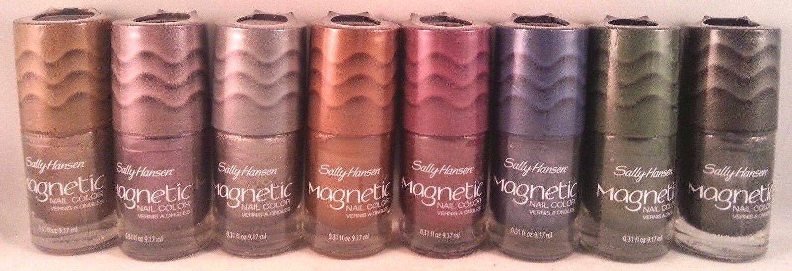 Sally Hansen Nail Polish Magnetic Graphite Gravity 908 | eBay