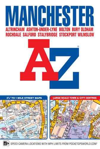 Manchester Street Atlas by Geographers' A-Z Map Co Ltd (Paperback)