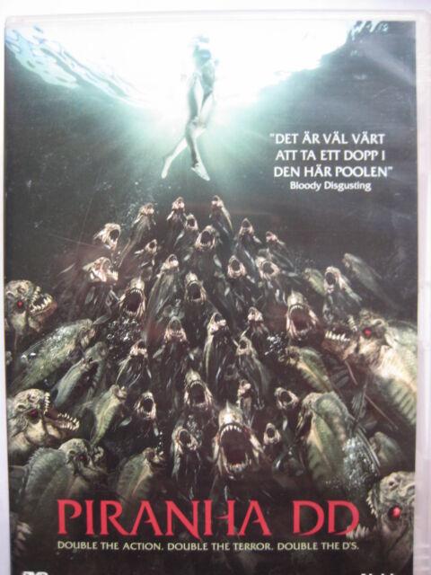 Piranha 3DD [DVD, 2012] Nordic Packaging NEW SEALED Pal Region 2